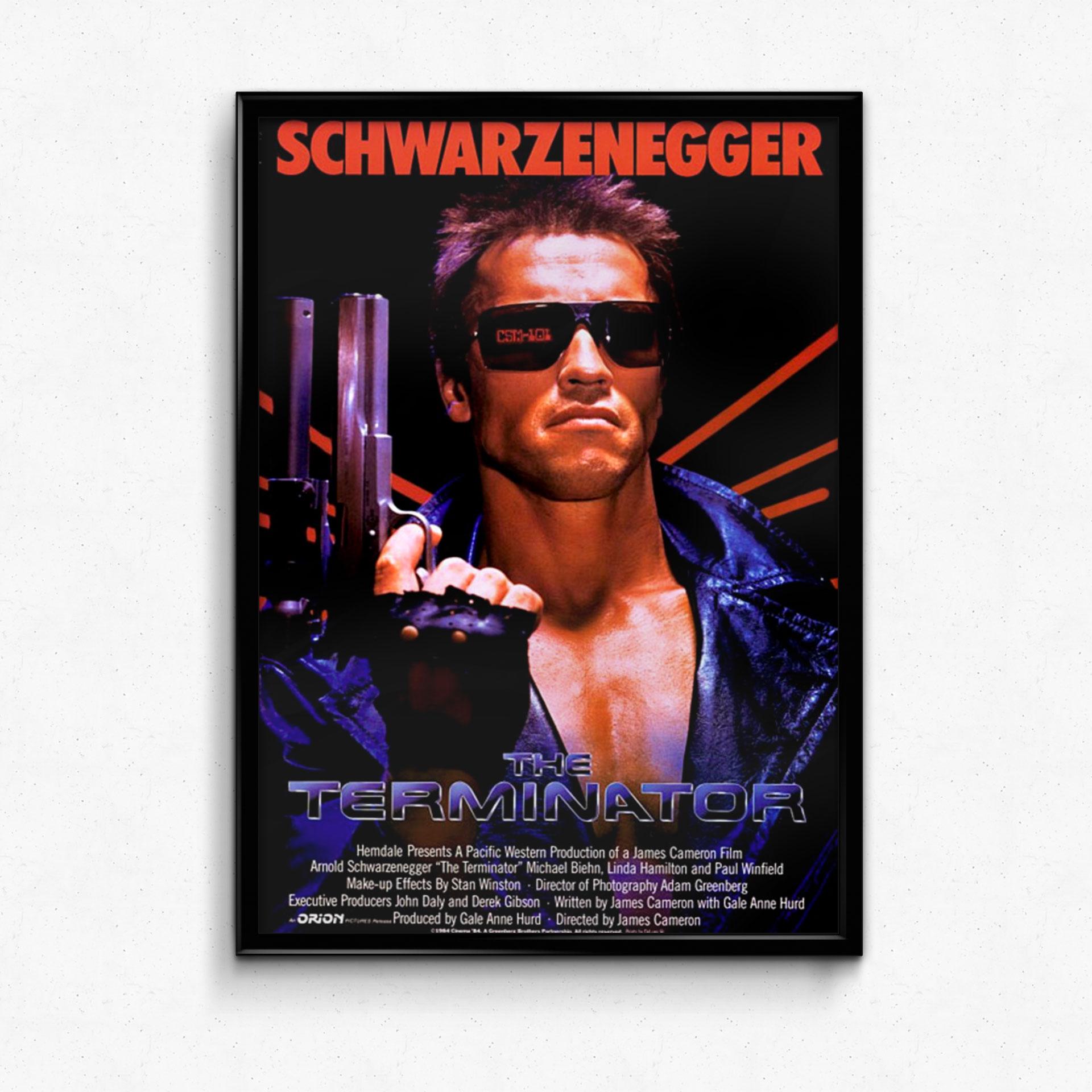 pretty nice 3ab93 3b11e Poster Terminator 1